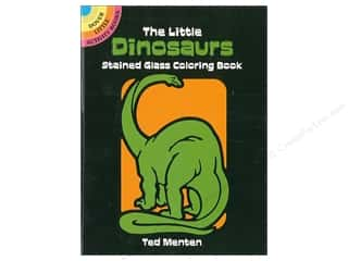 Dover Publications Little Dinosaurs Stained Glass Coloring Book