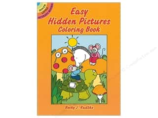books & patterns: Dover Publications Little Easy Hidden Pictures Coloring Book