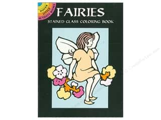 books & patterns: Dover Publications Little Fairies Stained Glass Coloring Book
