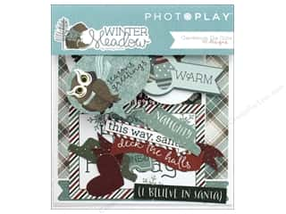 Photo Play Collection Winter Meadow Die Cuts Ephemera