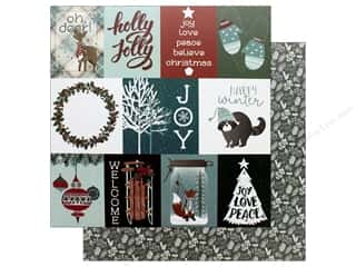 Photo Play Collection Winter Meadow Paper 12 in. x 12 in. Winter Wishes (25 pieces)