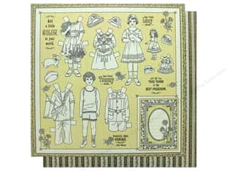 Graphic 45 Collection Penny's Paper Doll Paper 12 in. x 12 in.  Color Your World (25 pieces)