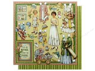 Graphic 45 Collection Penny's Paper Doll Paper 12 in. x 12 in.  Mothers & Daughters (25 pieces)