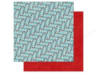 a perfect winter: Echo Park A Perfect Winter Paper 12 in. x 12 in. Winter Berries (25 pieces)