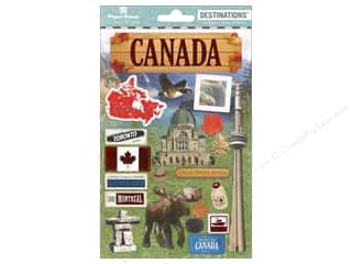 Paper House Sticker 3D Destinations Canada