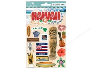 Paper House Sticker 3D Destinations Hawaii