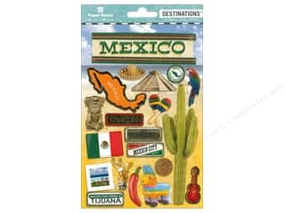stickers: Paper House Sticker 3D Destinations Mexico
