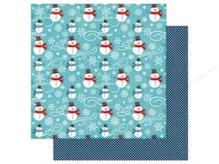Echo Park A Perfect Winter Paper 12 in. x 12 in. Snowmen Fun (25 pieces)