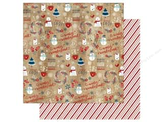 Echo Park A Perfect Winter Paper 12 in. x 12 in. Winter Wonderland (25 pieces)