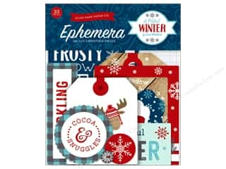 scrapbooking & paper crafts: Echo Park A Perfect Winter Ephemera
