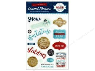 stickers: Echo Park A Perfect Winter Enamel Words