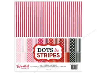 "scrapbooking & paper crafts: Echo Park Dot & Stripe Valentine Kit 12""x 12"""