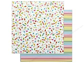 Pebbles Happy Hooray Paper 12 in. x 12 in. Candy Shoppe (25 pieces)