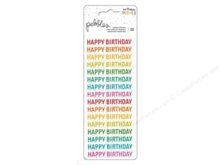 stickers: Pebbles Happy Hooray Sticker Happy Birthday