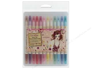 scrapbooking & paper crafts: Docrafts Santoro Willow Color Me In Watercolor Pens 12 pc