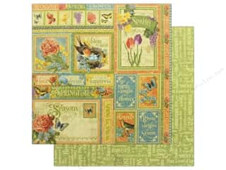 Graphic 45 12 x 12 in. Paper Seasons Spring (25 pieces)
