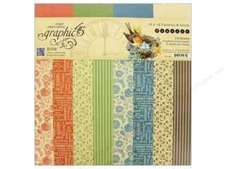 Graphic 45 12 x 12 in. Paper Pad Seasons Solid/Patterns