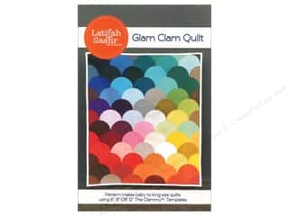 Latifah Saafir Glam Clam Quilt Pattern