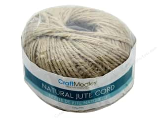 craft & hobbies: MultiCraft Cord Jute 3 ply 80 g Natural