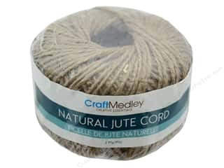 craft & hobbies: MultiCraft Cord Jute 2 ply 80 g Natural