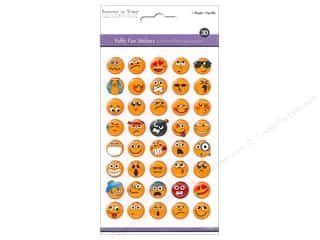 scrapbooking & paper crafts: Multicraft Sticker Puffy Fun Emoji Icons