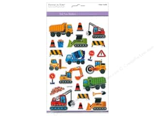 Multicraft Sticker Foil Fun Mighty Machines