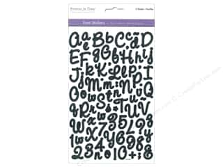 scrapbooking & paper crafts: Multicraft Sticker Font Medley Script Assortment