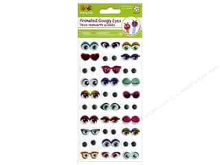 Multicraft Krafty Kids Sticker Googly Eyes Glitter Accessories