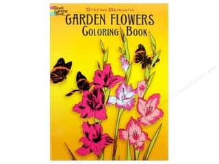 books & patterns: Dover Publications Garden Flowers Coloring Book