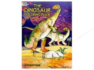 books & patterns: Dover Publications The Dinosaur Coloring Book