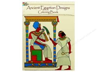 books & patterns: Dover Publications Ancient Egyptian Designs Coloring Book