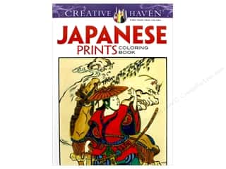 Dover Publications Japanese Prints Coloring Book