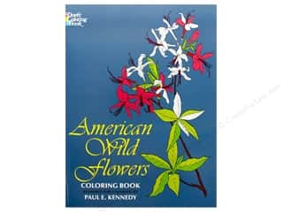 books & patterns: Dover Publications American Wild Flowers Coloring Book
