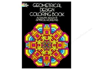 Dover Publications Geometrical Design Coloring Book