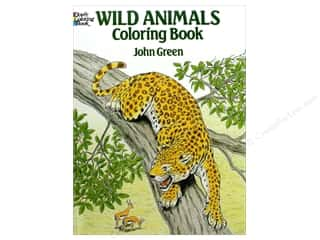 books & patterns: Dover Publications Wild Animals Coloring Book