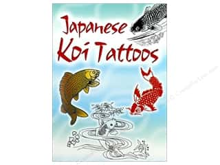 Dover Publications Little Japanese Koi Tattoos Book