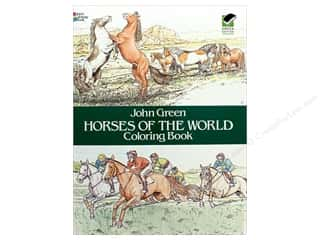 Dover Publications Horses Of The World Coloring Book