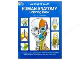 books & patterns: Dover Publications Human Anatomy Coloring Book