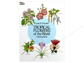 books & patterns: Dover Publications Tropical Flowers/World Color Book