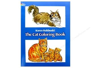 books & patterns: Dover Publications The Cat Coloring Book