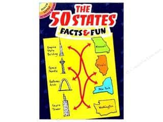 books & patterns: Dover Publications Little The 50 States Facts & Fun Book