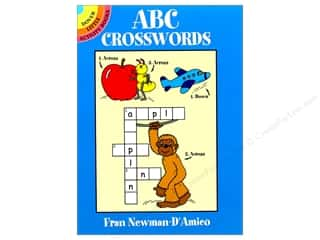 books & patterns: Dover Publications Little ABC Crosswords Book