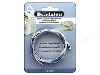 beading & jewelry making supplies: Beadalon Spool Tamer Wire Dispenser