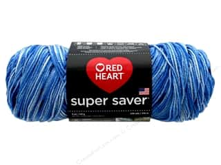 yarn & needlework: Coats & Clark Red Heart Super Saver 4 ply 5 oz Lapis