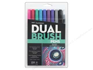 scrapbooking & paper crafts: Tombow Dual Brush Pen Set 10 pc. Galaxy