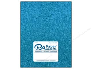 Paper Accents Glitter Cardstock 8 1/2 in. x 11 in. #G08 Ocean Blue 5 pc.