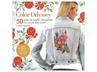 Get Creative 6 Color Odyssey 50 Iron-On Fabric Transfers To Color And Craft Book