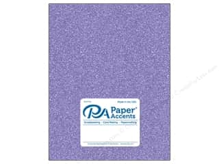 Paper Accents Glitter Cardstock 8 1/2 in. x 11 in. #G29 Lavender 5 pc.
