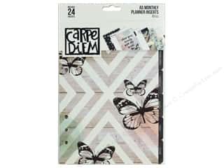 Simple Stories: Simple Stories Carpe Diem Bliss A5 Planner Monthly Inserts