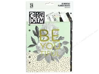 Simple Stories Carpe Diem Beautiful A5 Planner Monthly Inserts
